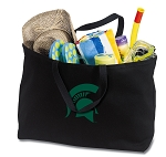 Michigan State Jumbo Tote Bag Black