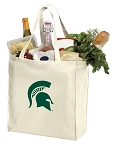Michigan State Shopping Bags Canvas