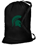 Michigan State Laundry Bag Black