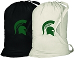 Michigan State Laundry Bags 2 Pc Set