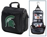 Michigan State University Toiletry Bag or Michigan State Shaving Kit Travel Organizer for Men
