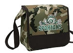 Michigan State Peace Frog Lunch Bag Cooler Camo