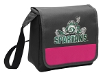 Michigan State Peace Frog Lunch Bag Cooler Pink