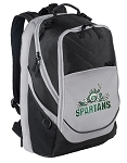 Michigan State Peace Frog Laptop Backpack