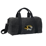 University of Missouri Duffel RICH COTTON Washed Finish Black
