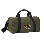 Mizzou Duffel RICH COTTON Washed Finish Khaki