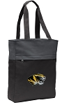University of Missouri Tote Bag Everyday Carryall Black