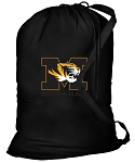 Mizzou Laundry Bag Black