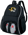 University of Missouri Ball Backpack Bag