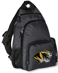 University of Missouri Backpack Cross Body Style Gray