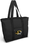 University of Missouri Tote Bag ZIPPERED TOP