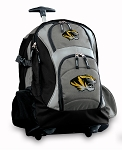 Missouri Rolling Backpack Black Gray
