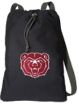 Missouri State Bears Cotton Drawstring Bag Backpacks