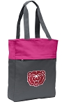 Missouri State Tote Bag Everyday Carryall Pink