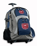 Missouri State Rolling Backpack Navy