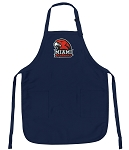 Official Miami University Aprons Navy