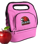 Miami University Redhawks Lunch Bag Pink