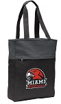 Miami University Redhawks Tote Bag Everyday Carryall Black