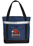Miami Redhawks Insulated Tote Bag Navy
