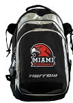 Miami University Redhawks Harrow Field Hockey Lacrosse Backpack Bag