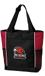 Miami University Redhawks Tote Bag Red