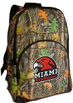 Miami Redhawks Backpack REAL CAMO DESIGN