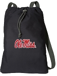 University of Mississippi Cotton Drawstring Bag Backpacks