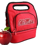 University of Mississippi Lunch Bag Red
