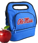 Ole Miss Lunch Bag Blue