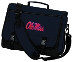 Ole Miss Messenger Bag Navy