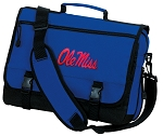 Ole Miss Messenger Bag Royal