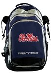 Ole Miss Harrow Field Hockey Backpack Bag Navy