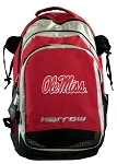 University of Mississippi Harrow Field Hockey Backpack Bag Red