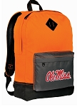 Ole Miss Backpack Classic Style Cool Orange