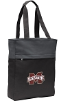 Mississippi Stat Tote Bag Everyday Carryall Black