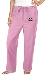Mississippi State University Pink Scrubs Pants Bottoms