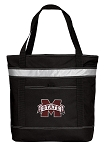 Mississippi Stat Insulated Tote Bag Black