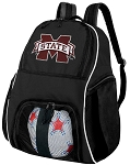 Mississippi Stat Ball Backpack Bag