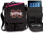 Mississippi Stat Tablet Bags & Cases Pink