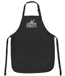 Official Michigan State Apron Black