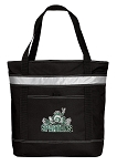 Michigan State Peace Frog Insulated Tote Bag Black