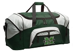 Marshall University Duffle Bag Green