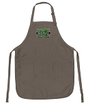 Official Marshall Logo Apron Tan
