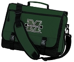 Marshall University Messenger Bag Green