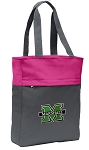 Marshall University Tote Bag Everyday Carryall Pink
