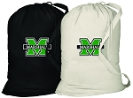 Marshall University Laundry Bags 2 Pc Set