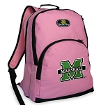 Marshall University Pink Backpack