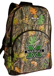 Marshall University Backpack REAL CAMO DESIGN