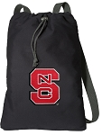 NC State Cotton Drawstring Bag Backpacks