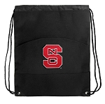NC State Drawstring Cinch Backpack Bag